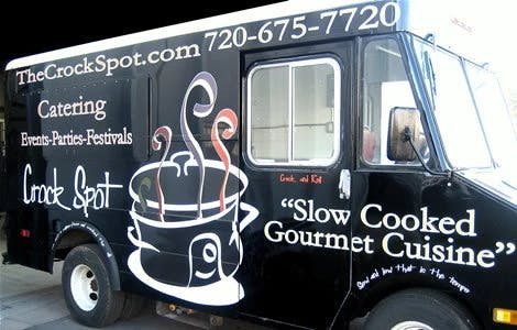 a picture of a food truck