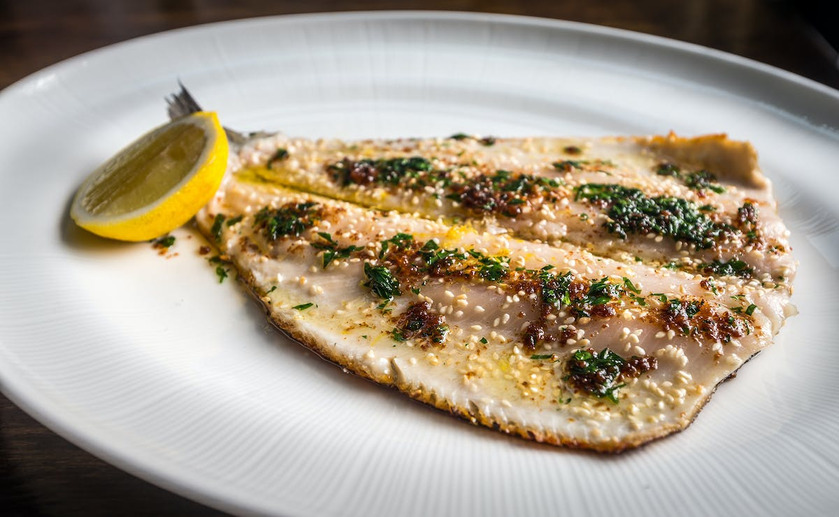 Dirty French Trout Meuniere