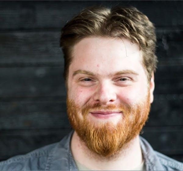 Seth Richardson smiling at the camera