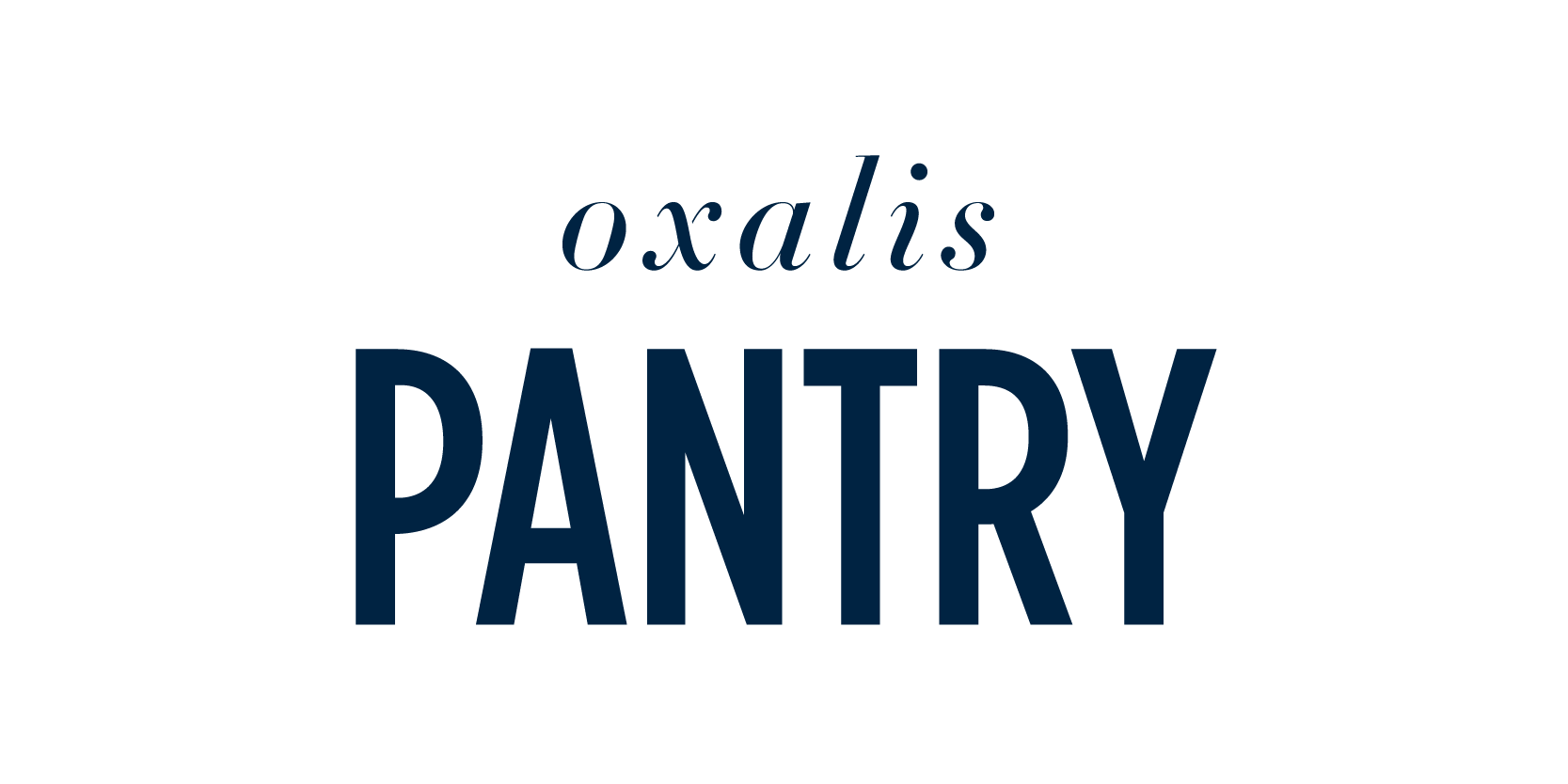 Oxalis Pantry Home