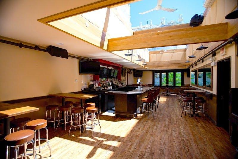 retractable rooftop bar