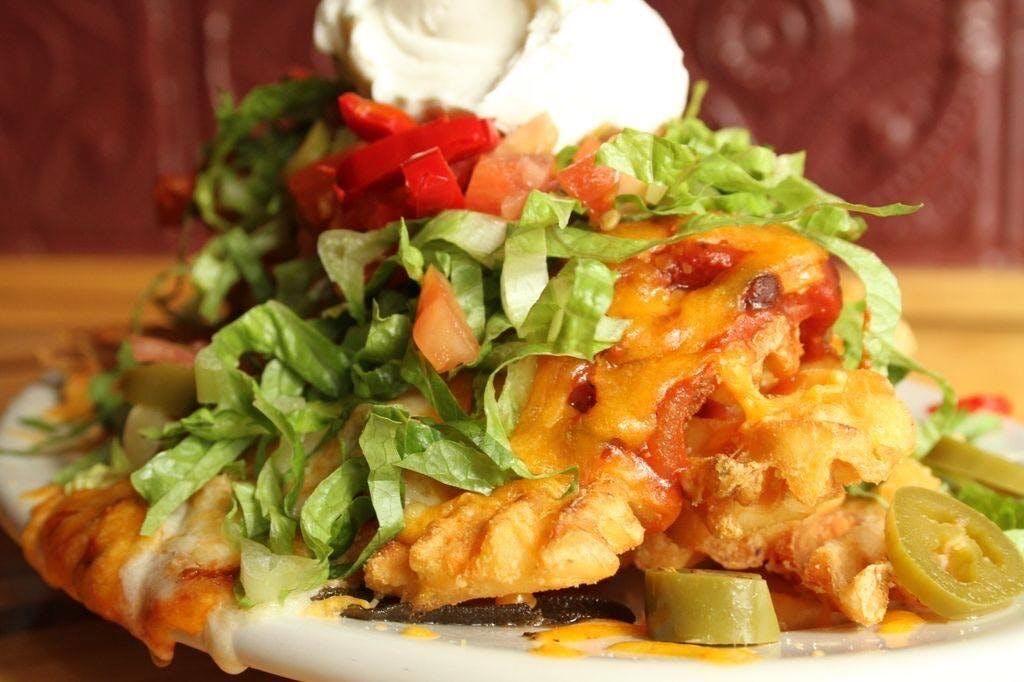 Waffle Nachos