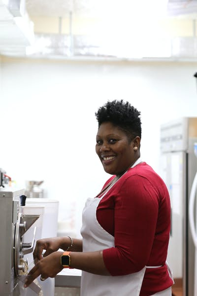 Patrice Baltimore, pastry chef