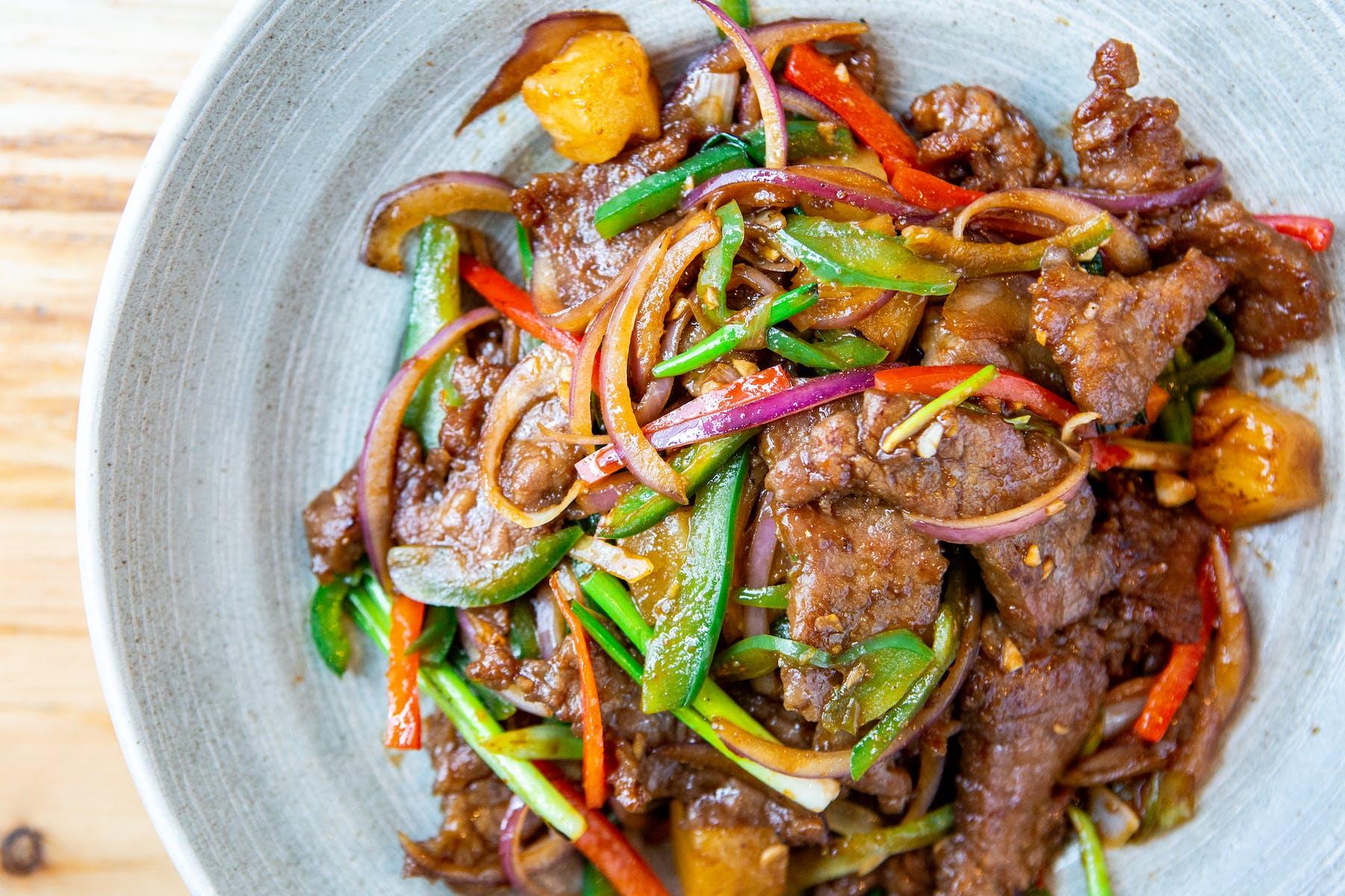 Spicy Cumin Beef Wok Toss