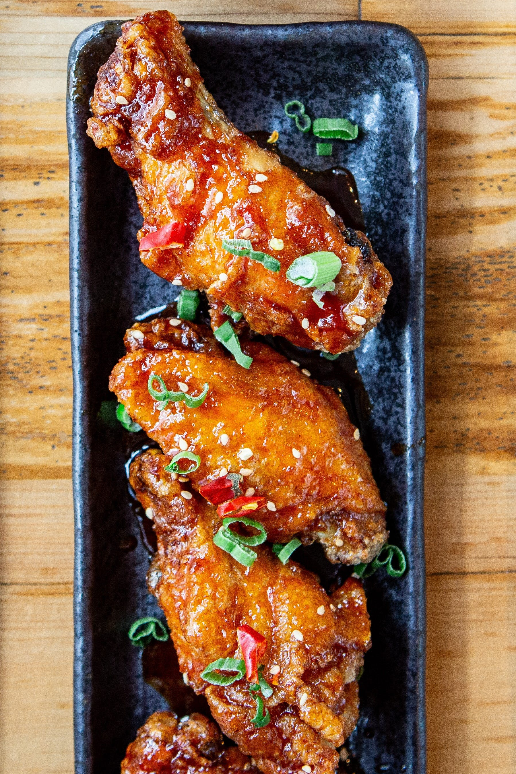 Sweet Crispy Chili Wings