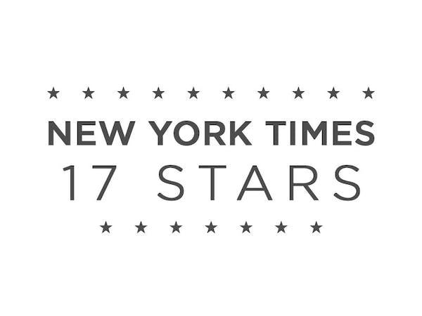 New York Times - 17 Stars
