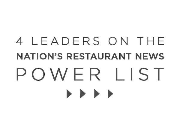 4 Leaders on the Nation's Restaurant News Power List