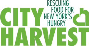 CITY HARVEST rescuing food for New Yorks's hungry logo