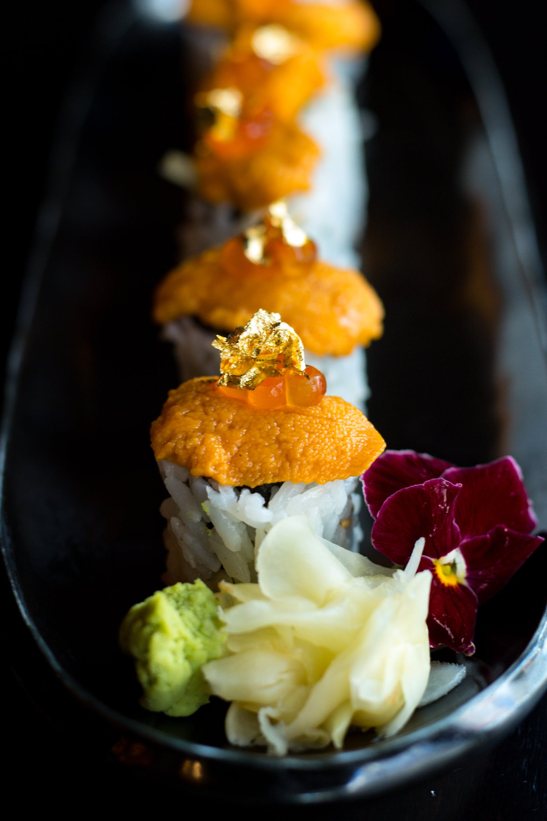 Uni Gold Leaf Maki