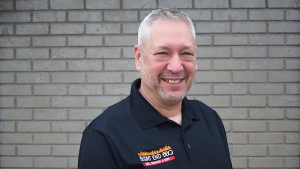 Smokey Schwartz smiling for the camera