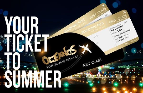 OCEANOS has just the ticket for a sizzling summer