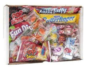a bag of food