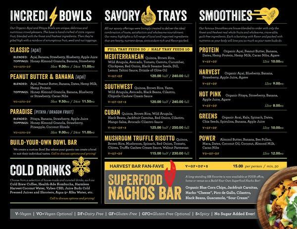 a screenshot of a menu