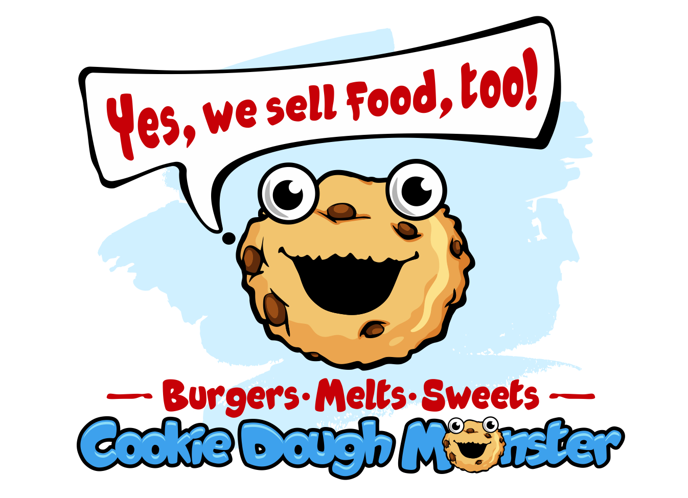 Cookie Dough Monster Cafe Home