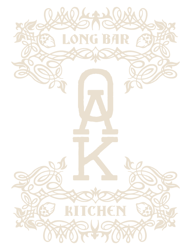 Oak Long Bar + Kitchen Home