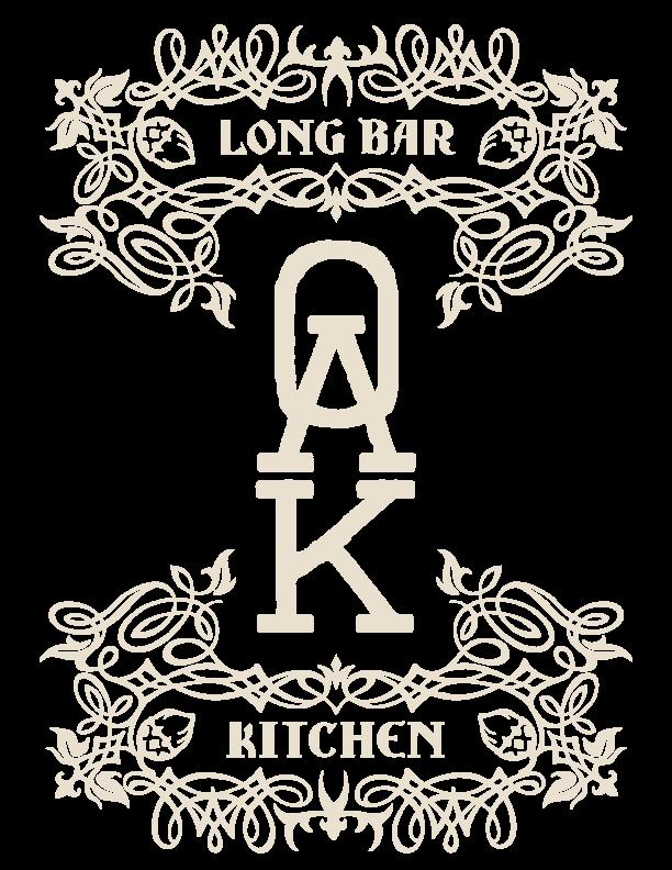 Oak Long Bar + Kitchen Home