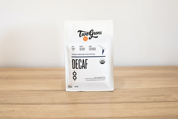 Photo of Decaf (Blend, Fair Trade Certified, USDA Organic Certified) Taste the difference of a chemical-free decaffeinated blend. Harvested and roasted with the highest standards of quality, our Decaf delivers uncompromised full-bodied flavor one socially responsible cup at a time.