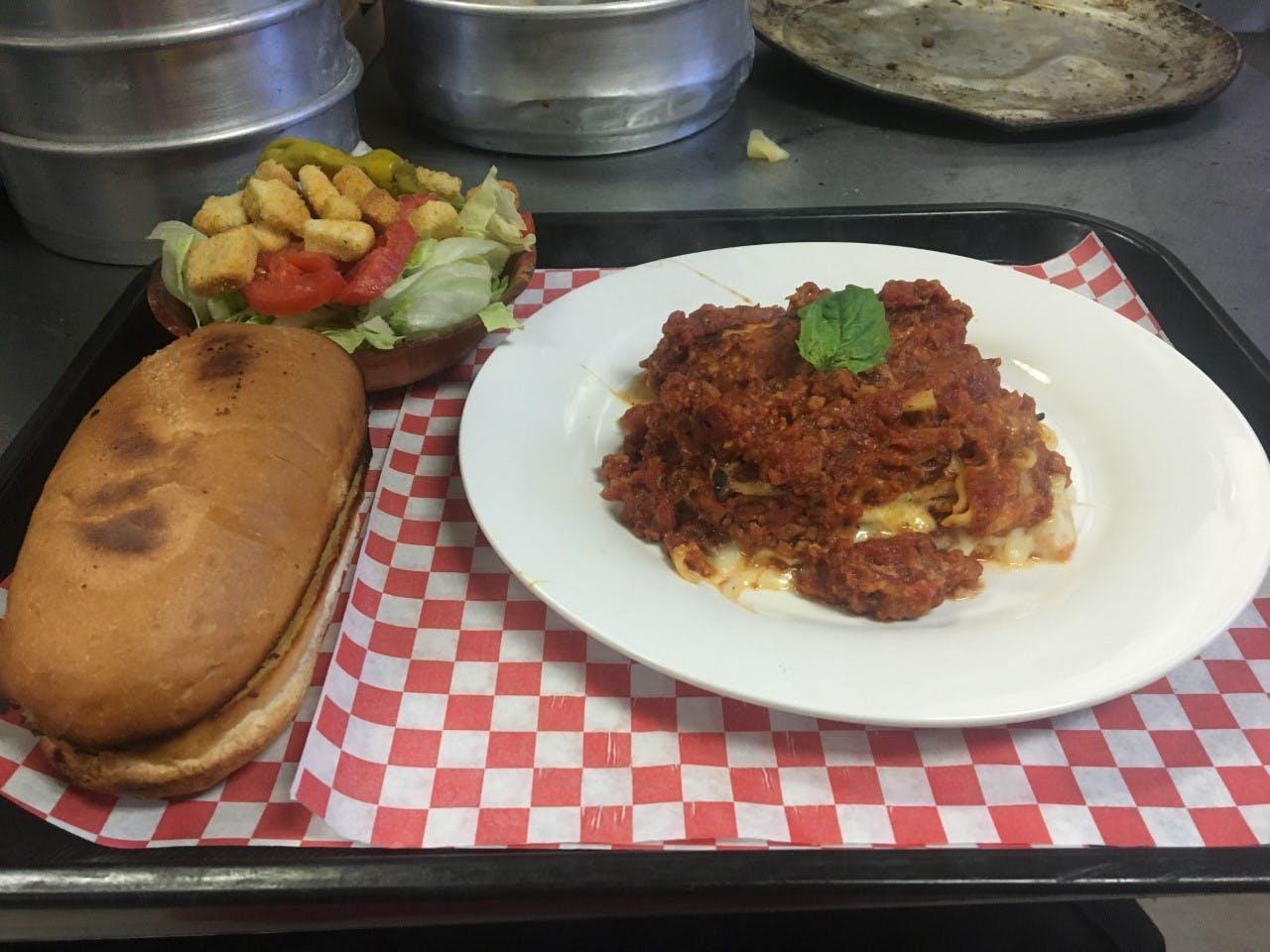 Lasagna (our specialty)