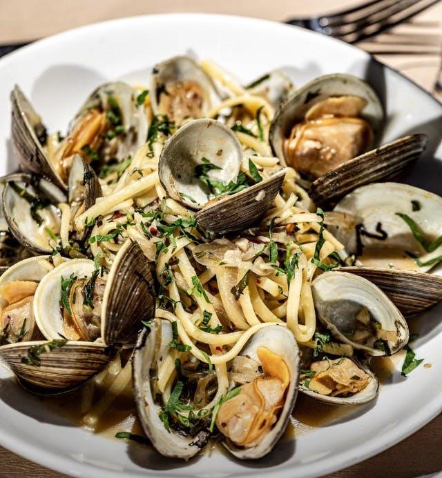 linguini clams