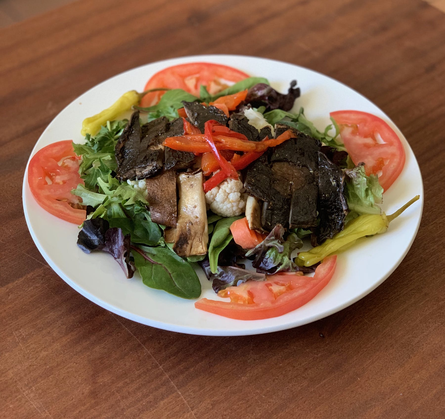Grilled Portabello Salad
