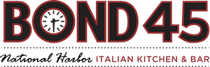 Bond 45 National Harbor Italian Kitchen logo