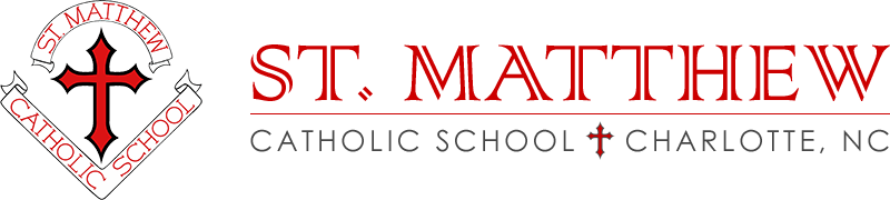 saint matthew catholic school logo