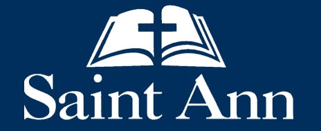 saint ann school logo