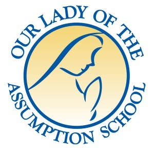 our lady of the assumption school logo
