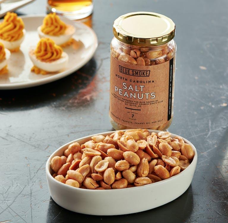 North Carolina salt peanuts