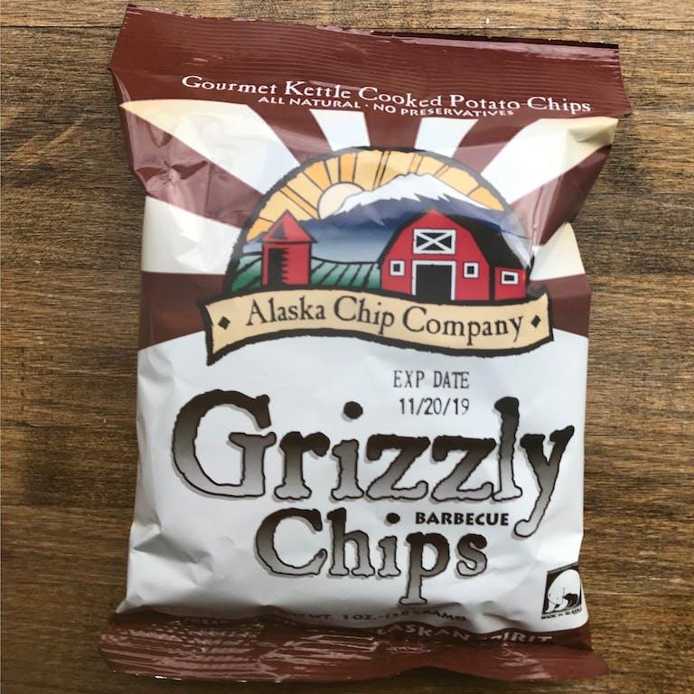 a close up of a potato chips bag