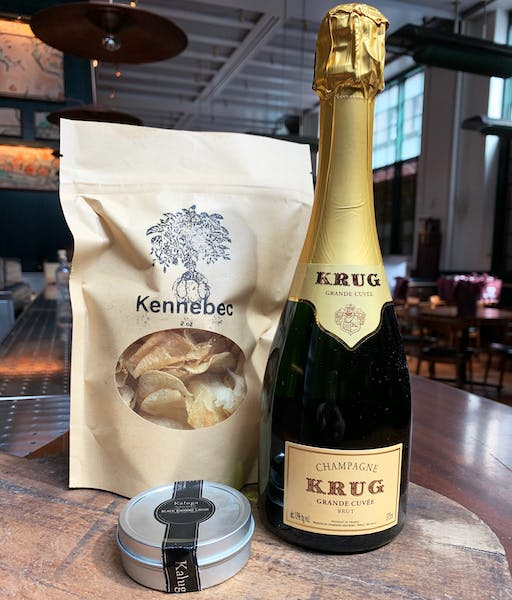 Krug and Caviar Pack at Union Square Cafe