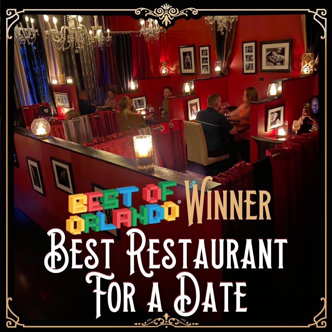 Best Restaurant for a Date Award
