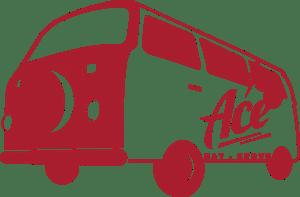 Ace Eat Serve car drawing