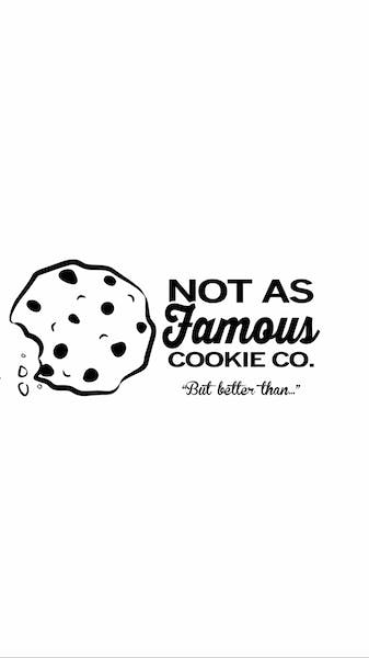 Not as Famous Cookie Company logo