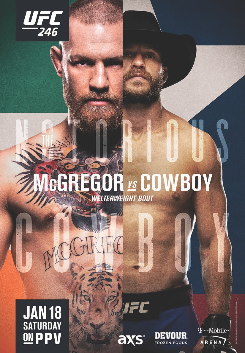 Conor McGregor wearing a hat