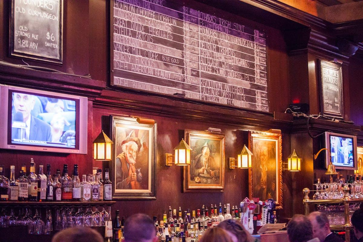 Back Bar/Chalkboard