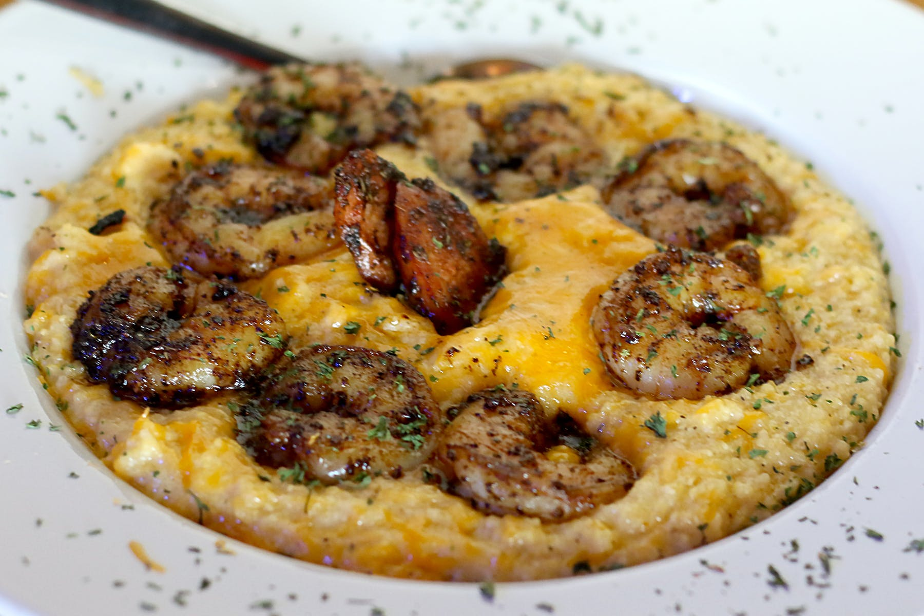 a bowl of grits