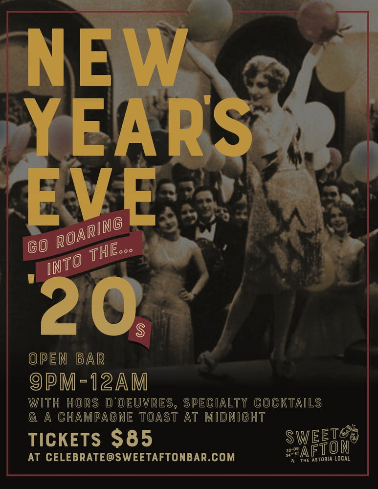 Click here for New Year's Eve tickets!