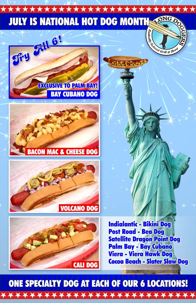 a hot dog