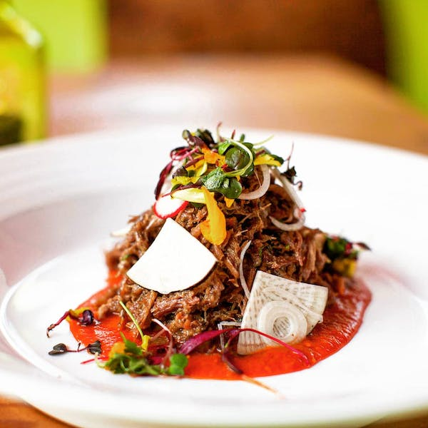 Our lean wagyu Barbacoa, a guest-favorite appetizer