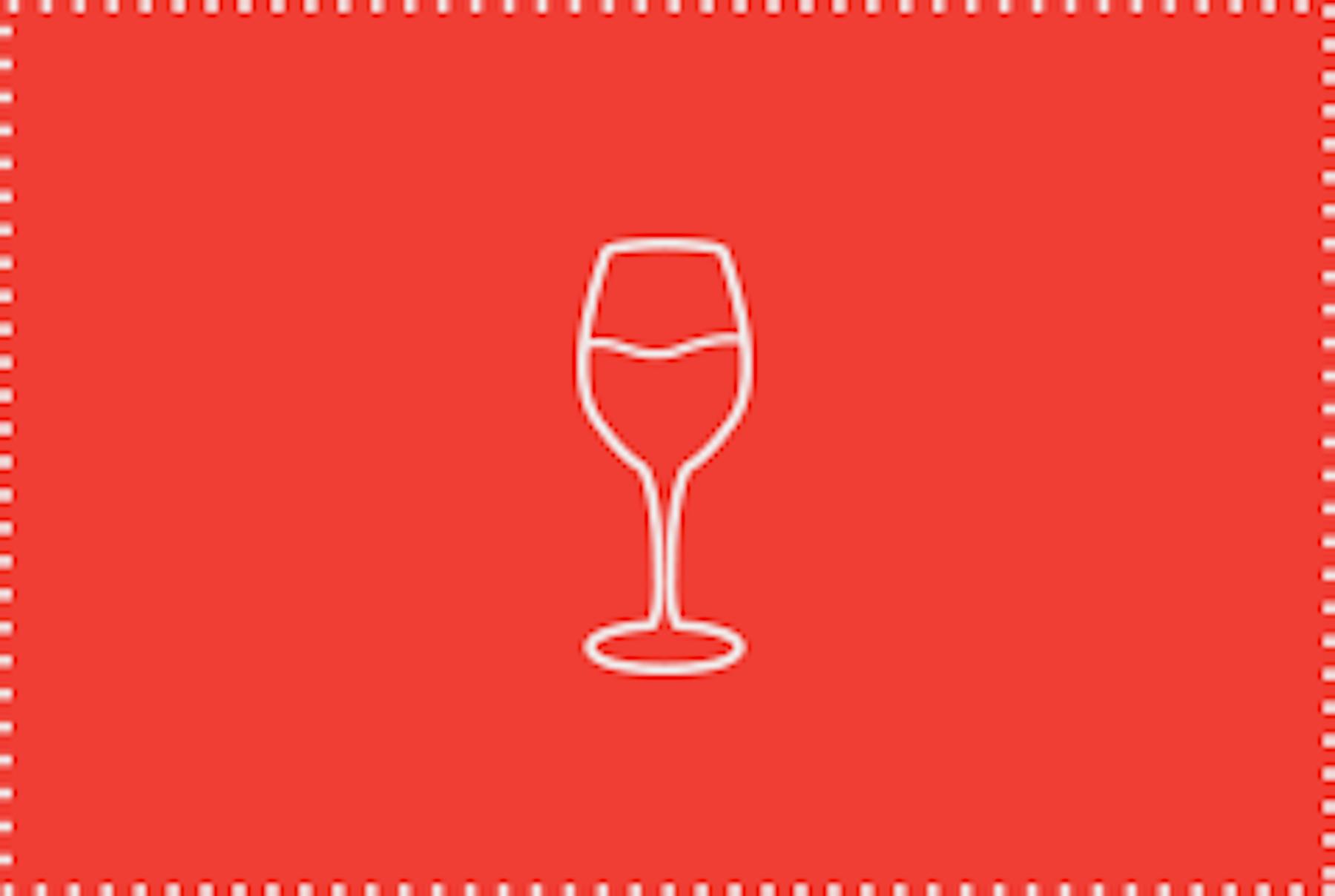 wine, cocktails, beer Rollover