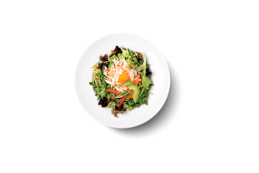 a bowl of food on a plate