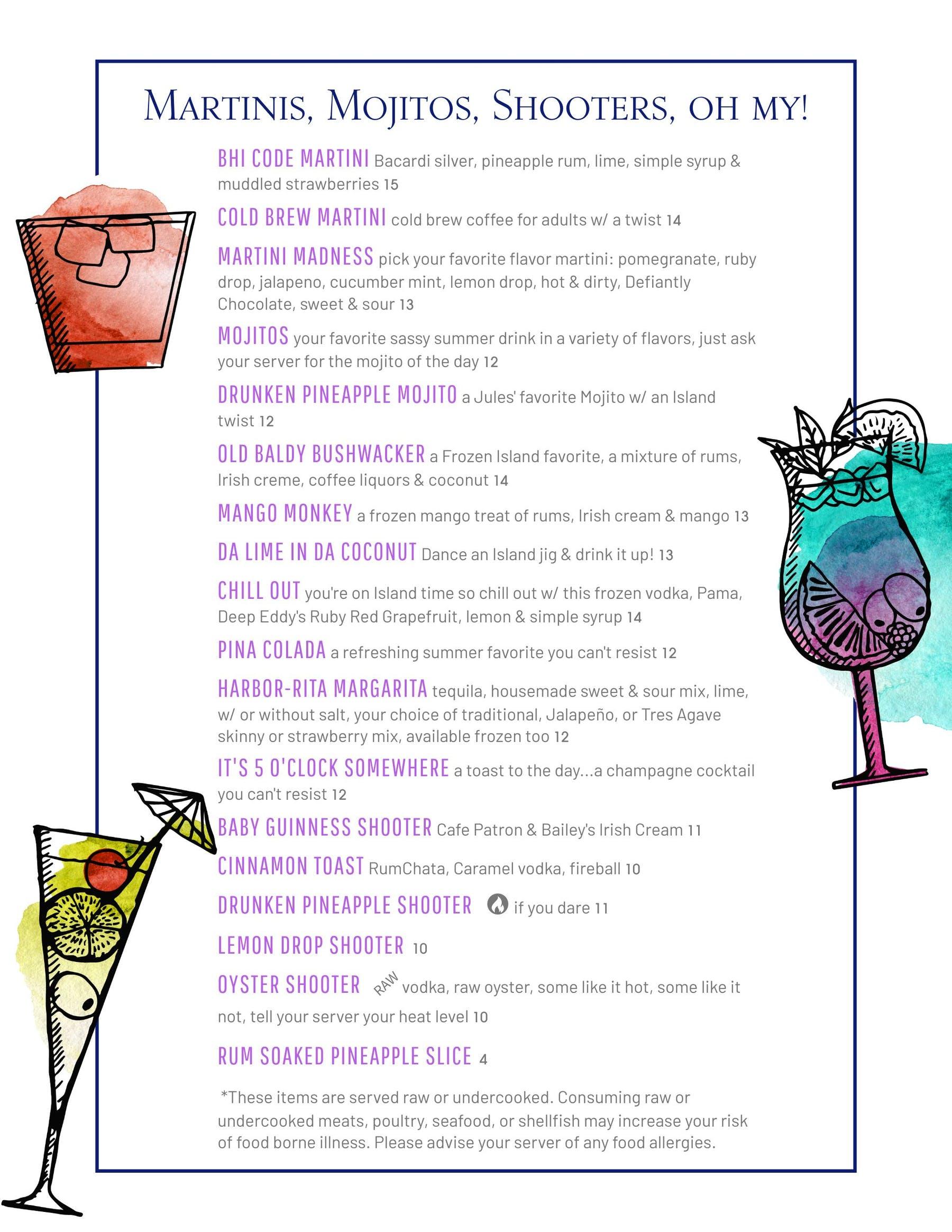 salty cocktails