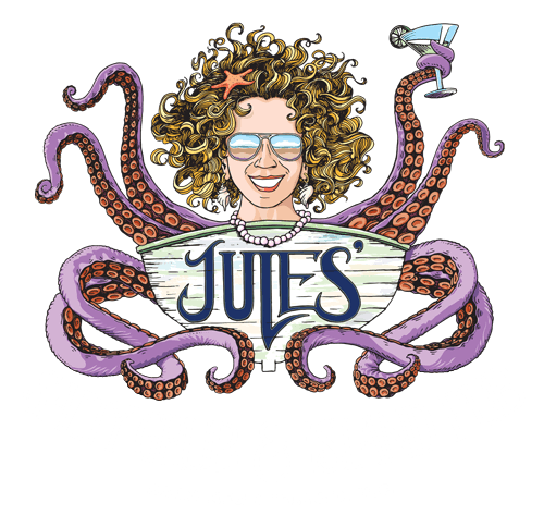 Jules' Salty Grub and Island Pub logo