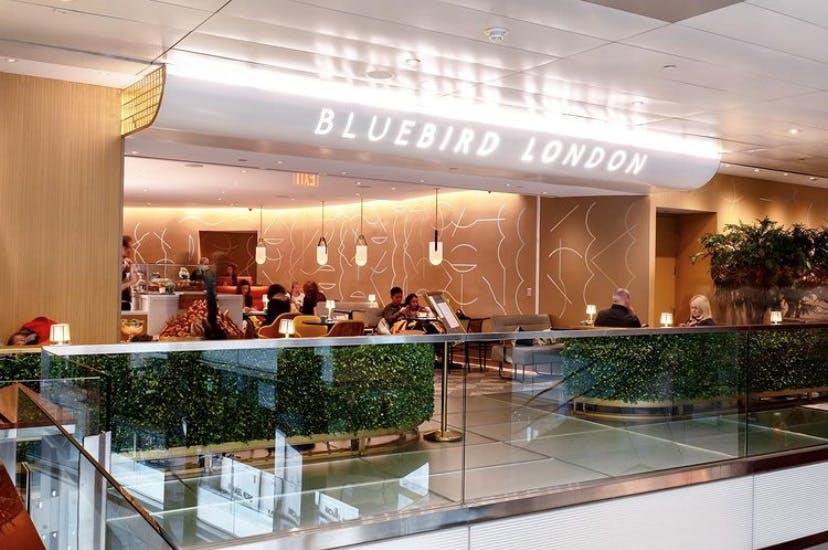Exterior Bluebird London NYC Columbus Circle