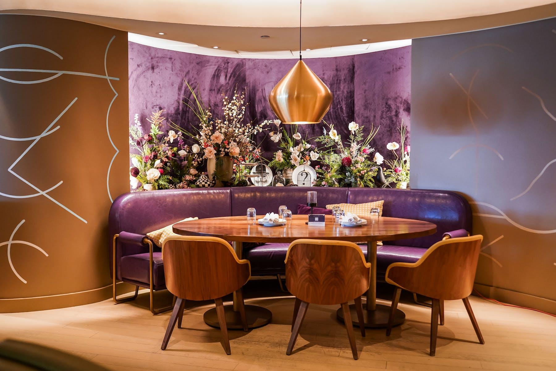 Bluebird London NYC Upscale Dining Room