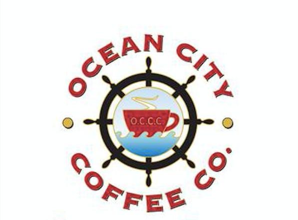 logo for ocean city coffee