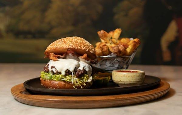 Bazaar Meat in Las Vegas presents a new burger