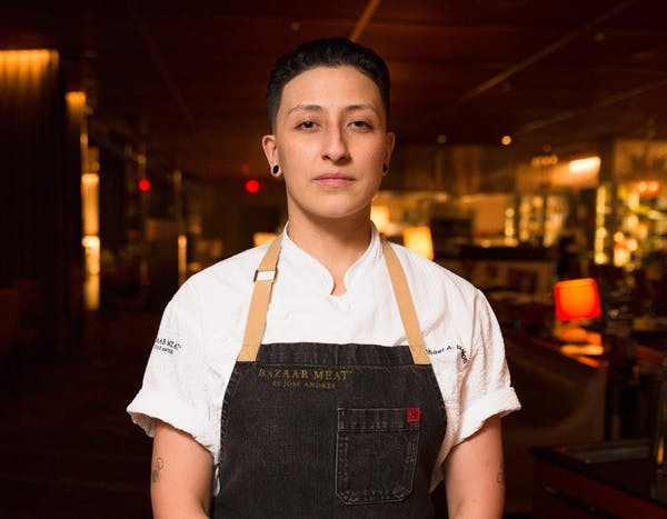 Bazaar Meat Executive Sous Chef Candace Ochoa