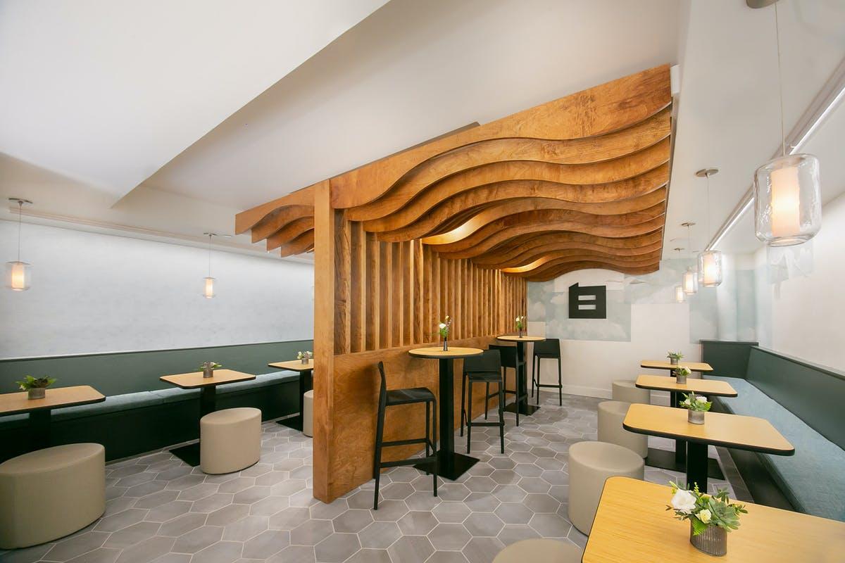 upstairs dining area at Bambao